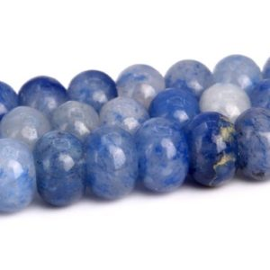 Shop Aventurine Rondelle Beads! Blue Aventurine Beads Grade AAA Natural Gemstone Rondelle Loose Beads 6x4MM 8x5MM Bulk Lot Options | Natural genuine rondelle Aventurine beads for beading and jewelry making.  #jewelry #beads #beadedjewelry #diyjewelry #jewelrymaking #beadstore #beading #affiliate #ad