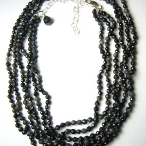 Shop Pietersite Necklaces! black pietersite, pietersite necklace, pietersite beads, beadwork necklace, energy necklace, minimalistic jewelry, evening necklace, | Natural genuine Pietersite necklaces. Buy crystal jewelry, handmade handcrafted artisan jewelry for women.  Unique handmade gift ideas. #jewelry #beadednecklaces #beadedjewelry #gift #shopping #handmadejewelry #fashion #style #product #necklaces #affiliate #ad