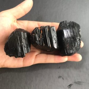 1 lb (450 gr) Large Raw Black Tourmaline Reiki Chakra Healing Crystals and Stones | Natural genuine stones & crystals in various shapes & sizes. Buy raw cut, tumbled, or polished gemstones for making jewelry or crystal healing energy vibration raising reiki stones. #crystals #gemstones #crystalhealing #crystalsandgemstones #energyhealing #affiliate #ad