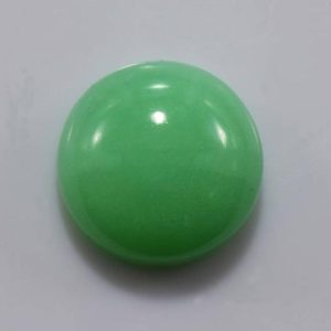 Shop Chrysoprase Cabochons! 10 cts Natural Green Chrysoprase 14x14x6.8 mm Cabochon Round Loose Gemstone – 100% Natural Green Chrysoprase Gemstone – CHGRN-1022 | Natural genuine stones & crystals in various shapes & sizes. Buy raw cut, tumbled, or polished gemstones for making jewelry or crystal healing energy vibration raising reiki stones. #crystals #gemstones #crystalhealing #crystalsandgemstones #energyhealing #affiliate #ad