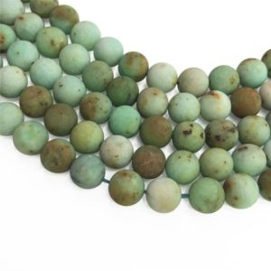Shop Chrysoprase Round Beads! 10mm Matte Chrysoprase Beads, Round Gemstone Beads, Wholesale Beads | Natural genuine round Chrysoprase beads for beading and jewelry making.  #jewelry #beads #beadedjewelry #diyjewelry #jewelrymaking #beadstore #beading #affiliate #ad