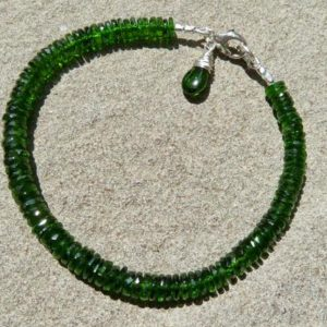 Shop Diopside Bracelets! Chrome Diopside Stacking Bracelet, Gemstone Jewelry, Gemstone Stacking Bracelet | Natural genuine Diopside bracelets. Buy crystal jewelry, handmade handcrafted artisan jewelry for women.  Unique handmade gift ideas. #jewelry #beadedbracelets #beadedjewelry #gift #shopping #handmadejewelry #fashion #style #product #bracelets #affiliate #ad