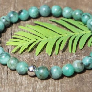 Shop Emerald Bracelets! Emerald Healing Stone Bracelet with Positive Healing Energy! | Natural genuine Emerald bracelets. Buy crystal jewelry, handmade handcrafted artisan jewelry for women.  Unique handmade gift ideas. #jewelry #beadedbracelets #beadedjewelry #gift #shopping #handmadejewelry #fashion #style #product #bracelets #affiliate #ad