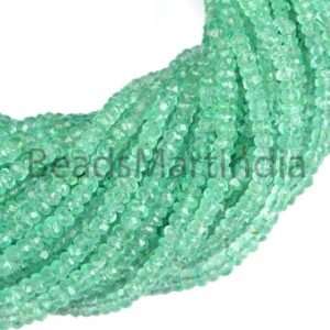 Shop Emerald Beads! Colombian Emerald Natural Beads, Emerald Faceted Beads,Emerald Rondelle Beads,Emerald Faceted Beads,Colombian Emerald Extra Fine Beads | Natural genuine beads Emerald beads for beading and jewelry making.  #jewelry #beads #beadedjewelry #diyjewelry #jewelrymaking #beadstore #beading #affiliate #ad