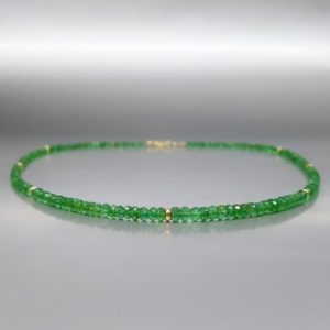 Shop Emerald Necklaces! Elegant fine necklace Emerald with 14K gold – gift for her – genuine natural precious gemstone – green Colombian emerald – may birthstone | Natural genuine Emerald necklaces. Buy crystal jewelry, handmade handcrafted artisan jewelry for women.  Unique handmade gift ideas. #jewelry #beadednecklaces #beadedjewelry #gift #shopping #handmadejewelry #fashion #style #product #necklaces #affiliate #ad