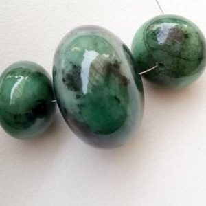 Shop Emerald Rondelle Beads! 15-23mm Emerald Plain Rondelle Bead, Natural Huge Emerald Gemstone, RARE Emerald Rondelle Drilled, 1 Piece Original Emerald – AUSPH53 | Natural genuine rondelle Emerald beads for beading and jewelry making.  #jewelry #beads #beadedjewelry #diyjewelry #jewelrymaking #beadstore #beading #affiliate #ad