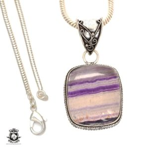 Shop Fluorite Pendants! Ideal to have! FLUORITE Pendant 4MM Italian Snake Chain V660 | Natural genuine Fluorite pendants. Buy crystal jewelry, handmade handcrafted artisan jewelry for women.  Unique handmade gift ideas. #jewelry #beadedpendants #beadedjewelry #gift #shopping #handmadejewelry #fashion #style #product #pendants #affiliate #ad