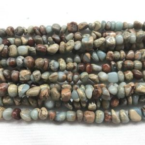 Shop Jasper Chip & Nugget Beads! Natural Snake Skin Jasper 5-8mm Chips Genuine Gemstone Nugget Loose Beads 15inch Jewelry Supply Bracelet Necklace Material Support Wholesale | Natural genuine chip Jasper beads for beading and jewelry making.  #jewelry #beads #beadedjewelry #diyjewelry #jewelrymaking #beadstore #beading #affiliate #ad