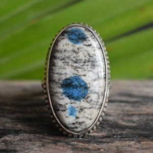 Shop Jasper Rings! 925 silver k2 jasper ring-natural k2 jasper ring-k2 jasper ring-handmade ring-jasper ring-design ring | Natural genuine Jasper rings, simple unique handcrafted gemstone rings. #rings #jewelry #shopping #gift #handmade #fashion #style #affiliate #ad