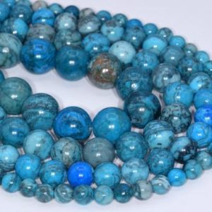 Shop Jasper Beads! Genuine Natural Blue Crazy Lace Jasper Loose Beads Round Shape 6mm 8mm 10mm 12mm | Natural genuine beads Jasper beads for beading and jewelry making.  #jewelry #beads #beadedjewelry #diyjewelry #jewelrymaking #beadstore #beading #affiliate #ad