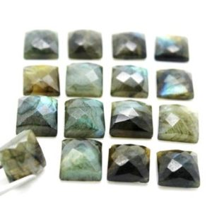 Shop Labradorite Stones & Crystals! Labradorite faceted cabochon,square gemstone cabochons,jewelry making cabochons,wholesale gemstones,Labradorite cabochon – AA Quality | Natural genuine stones & crystals in various shapes & sizes. Buy raw cut, tumbled, or polished gemstones for making jewelry or crystal healing energy vibration raising reiki stones. #crystals #gemstones #crystalhealing #crystalsandgemstones #energyhealing #affiliate #ad