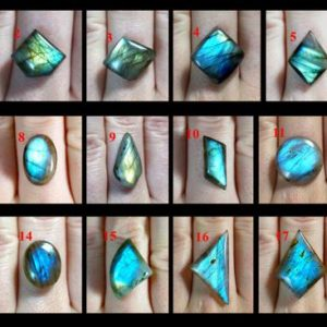 Shop Labradorite Rings! Labradorite cabochon custom ring just for You, pick a stone, select wire, choose a style how to wrap your stone, enjoy Your hancrafted piece | Natural genuine Labradorite rings, simple unique handcrafted gemstone rings. #rings #jewelry #shopping #gift #handmade #fashion #style #affiliate #ad