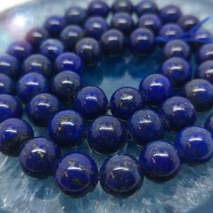 Shop Lapis Lazuli Round Beads! Lapis Lazuli 8mm Lapis Beads / Lapis Beads Top Quality Pyrite Inclusions / Lapis Lazuli Rounds / Choose Quantity | Natural genuine round Lapis Lazuli beads for beading and jewelry making.  #jewelry #beads #beadedjewelry #diyjewelry #jewelrymaking #beadstore #beading #affiliate #ad