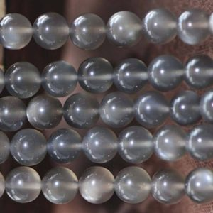 Shop Moonstone Beads! Natural AAAA Grey Moonstone Smooth and Round Beads,6mm/8mm/10mm/12mm Natural Gray Moonstone Beads Bulk Supply,15 inches one starand | Natural genuine beads Moonstone beads for beading and jewelry making.  #jewelry #beads #beadedjewelry #diyjewelry #jewelrymaking #beadstore #beading #affiliate #ad