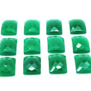 Shop Onyx Cabochons! Green Onyx faceted cabochon,rectangle cabochon,rectangle gemstone,gemstone cabochon,faceted green onyx,faceted stone wholesale – AA Quality | Natural genuine stones & crystals in various shapes & sizes. Buy raw cut, tumbled, or polished gemstones for making jewelry or crystal healing energy vibration raising reiki stones. #crystals #gemstones #crystalhealing #crystalsandgemstones #energyhealing #affiliate #ad