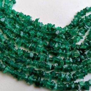 Shop Onyx Chip & Nugget Beads! 4-6mm Green Onyx Chips Strand, Natural Green Onyx Beads, Green Onyx For Necklace 32 Inches Onyx For Jewelry (1strand To 5strand Options) | Natural genuine chip Onyx beads for beading and jewelry making.  #jewelry #beads #beadedjewelry #diyjewelry #jewelrymaking #beadstore #beading #affiliate #ad