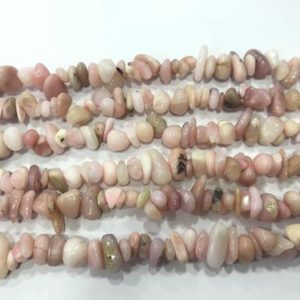Shop Opal Chip & Nugget Beads! Natural Pink Opal 5-8mm Chips Genuine Loose Nugget Grade A Beads 34 inch Jewelry Supply Bracelet Necklace Material Support Wholesale | Natural genuine chip Opal beads for beading and jewelry making.  #jewelry #beads #beadedjewelry #diyjewelry #jewelrymaking #beadstore #beading #affiliate #ad