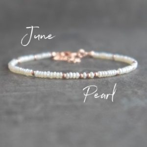 Shop Pearl Jewelry! Dainty Pearl Bracelet, Real Pearl Bracelet, Bridesmaid Bracelet, Rose Gold Wedding Bracelet, Freshwater Pearl Bracelets for Women | Natural genuine Pearl jewelry. Buy handcrafted artisan wedding jewelry.  Unique handmade bridal jewelry gift ideas. #jewelry #beadedjewelry #gift #crystaljewelry #shopping #handmadejewelry #wedding #bridal #jewelry #affiliate #ad