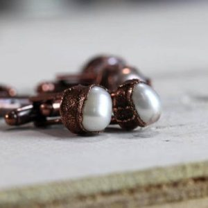 Shop Pearl Bracelets! Stone Cufflinks – Graduation Gift -pearl Cuff Links | Natural genuine Pearl bracelets. Buy crystal jewelry, handmade handcrafted artisan jewelry for women.  Unique handmade gift ideas. #jewelry #beadedbracelets #beadedjewelry #gift #shopping #handmadejewelry #fashion #style #product #bracelets #affiliate #ad