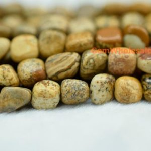 "Shop Picture Jasper Chip & Nugget Beads! 15.5"" 5~7mm Picture jasper pebbles beads, small Picture jasper pebbles, Picture jasper potato beads, small nugget beads 