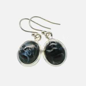 Pietersite Earring, 925 Sterling Silver, Oval Earrings, Simple Hook Earrings, Simple Earrings, Cute Earring, Silver Gift Earring, Gift, sale | Natural genuine Pietersite earrings. Buy crystal jewelry, handmade handcrafted artisan jewelry for women.  Unique handmade gift ideas. #jewelry #beadedearrings #beadedjewelry #gift #shopping #handmadejewelry #fashion #style #product #earrings #affiliate #ad
