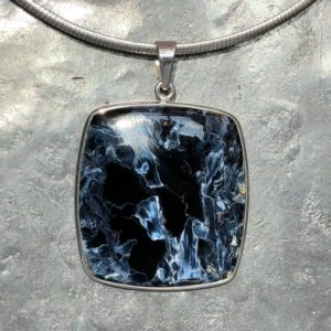 Pietersite Pendant – fine pietersite necklace | Natural genuine Pietersite necklaces. Buy crystal jewelry, handmade handcrafted artisan jewelry for women.  Unique handmade gift ideas. #jewelry #beadednecklaces #beadedjewelry #gift #shopping #handmadejewelry #fashion #style #product #necklaces #affiliate #ad