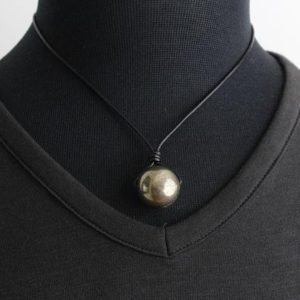 Shop Pyrite Pendants! Pyrite Pendant, Unisex Necklace, Pyrite Necklace, Wiccan Jewelry, Protection Gemstone, Pyrite Jewelry, Mens Pendant, Mens Jewelry, Yoga | Natural genuine Pyrite pendants. Buy handcrafted artisan men's jewelry, gifts for men.  Unique handmade mens fashion accessories. #jewelry #beadedpendants #beadedjewelry #shopping #gift #handmadejewelry #pendants #affiliate #ad