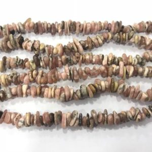 Shop Rhodochrosite Chip & Nugget Beads! Natural Rhodochrosite 5-8mm Chips Genuine Pink Loose Nugget Grade AB Beads 34 inch Jewelry Supply Bracelet Necklace Material Support | Natural genuine chip Rhodochrosite beads for beading and jewelry making.  #jewelry #beads #beadedjewelry #diyjewelry #jewelrymaking #beadstore #beading #affiliate #ad