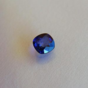 Shop Sapphire Stones & Crystals! Ceylon Blue Sapphire loose stone 1.79ct Cushion cut sapphire Beryllium diffused loose gemstone 7x7mm September Birthstone | Natural genuine stones & crystals in various shapes & sizes. Buy raw cut, tumbled, or polished gemstones for making jewelry or crystal healing energy vibration raising reiki stones. #crystals #gemstones #crystalhealing #crystalsandgemstones #energyhealing #affiliate #ad