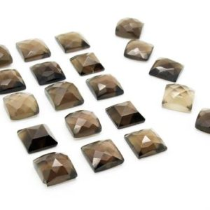 Shop Smoky Quartz Stones & Crystals! Unique smoky quartz cabochons,square gems,customized gemstones,custom cut stones,semiprecious stones,jewelry making supplies,AA Quality | Natural genuine stones & crystals in various shapes & sizes. Buy raw cut, tumbled, or polished gemstones for making jewelry or crystal healing energy vibration raising reiki stones. #crystals #gemstones #crystalhealing #crystalsandgemstones #energyhealing #affiliate #ad