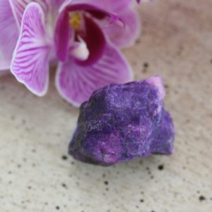 Sugilite with Richterite Rough Stone from South Africa, weight: 14.1 grams | Natural genuine stones & crystals in various shapes & sizes. Buy raw cut, tumbled, or polished gemstones for making jewelry or crystal healing energy vibration raising reiki stones. #crystals #gemstones #crystalhealing #crystalsandgemstones #energyhealing #affiliate #ad