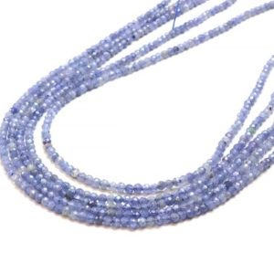 "Shop Tanzanite Faceted Beads! Tanzanite beads,small gemstone beads,tiny faceted beads,natural beads,Tanzanite gem beads,blue tanzanite,natural gemstones – 16"" Strand 