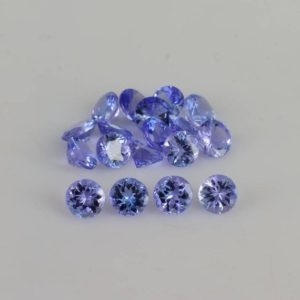 4x4x2.4 mm Natural Tanzanite Faceted Round AAA+ Grade Loose Gemstone – 100% Natural Tanzanite Gemstone – Tanzanite Jewelry – TZBLU-1045 | Natural genuine stones & crystals in various shapes & sizes. Buy raw cut, tumbled, or polished gemstones for making jewelry or crystal healing energy vibration raising reiki stones. #crystals #gemstones #crystalhealing #crystalsandgemstones #energyhealing #affiliate #ad