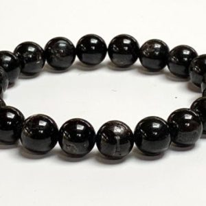 Shop Apache Tears Jewelry! 10mm Apache tears Mala Beads Bracelet, Grief Support Bracelet, Loss, Bereavement Bracelet, Grief Affirmation, Emotional Support | Natural genuine Apache Tears jewelry. Buy crystal jewelry, handmade handcrafted artisan jewelry for women.  Unique handmade gift ideas. #jewelry #beadedjewelry #beadedjewelry #gift #shopping #handmadejewelry #fashion #style #product #jewelry #affiliate #ad