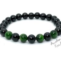 Aaa 8mm Apache Tears Mala Beads Bracelet, Diopside, Grief Support Bracelet, Loss, Bereavement Bracelet Grief Affirmation Emotional Support | Natural genuine Gemstone jewelry. Buy crystal jewelry, handmade handcrafted artisan jewelry for women.  Unique handmade gift ideas. #jewelry #beadedjewelry #beadedjewelry #gift #shopping #handmadejewelry #fashion #style #product #jewelry #affiliate #ad