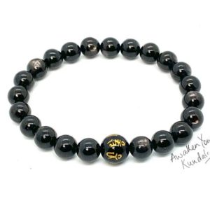 Shop Apache Tears Jewelry! AAA Apache Tear Obsidian, Overcoming Grief Gemstone Bracelet, Crystals for Bereavement, Crystals For Coping With Loss, Mens Womens Jewellery | Natural genuine Apache Tears jewelry. Buy handcrafted artisan men's jewelry, gifts for men.  Unique handmade mens fashion accessories. #jewelry #beadedjewelry #beadedjewelry #shopping #gift #handmadejewelry #jewelry #affiliate #ad
