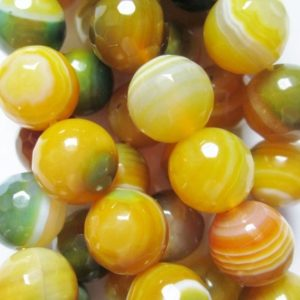 """Shop Agate Faceted Beads! Faceted Crackle Agate  Beads – Round 10 mm Gemstone Beads – Full Strand 15"""", 38 beads, item 17   Natural genuine faceted Agate beads for beading and jewelry making.  #jewelry #beads #beadedjewelry #diyjewelry #jewelrymaking #beadstore #beading #affiliate #ad"""