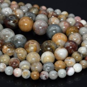 Shop Crazy Lace Agate Beads! Genuine Natural Crazy Lace Agate Loose Beads Round Shape 6mm 8mm 10mm | Natural genuine beads Agate beads for beading and jewelry making.  #jewelry #beads #beadedjewelry #diyjewelry #jewelrymaking #beadstore #beading #affiliate #ad
