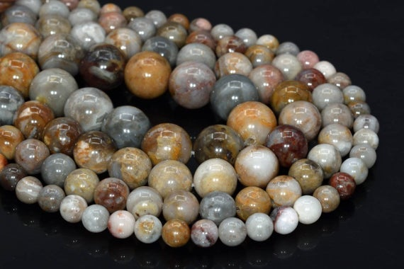 Genuine Natural Gobi Agate Loose Beads Round Shape 6mm 8mm 10mm