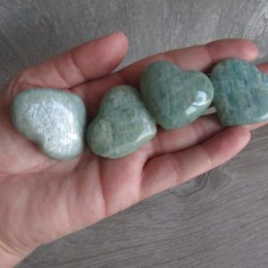 Shop Amazonite Shapes! Amazonite Large Heart K96 | Natural genuine stones & crystals in various shapes & sizes. Buy raw cut, tumbled, or polished gemstones for making jewelry or crystal healing energy vibration raising reiki stones. #crystals #gemstones #crystalhealing #crystalsandgemstones #energyhealing #affiliate #ad