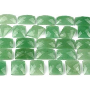 Shop Aventurine Cabochons! Green aventurine stone,rectangle cabochon,faceted cabochon,checkercut cabochon,rose cut gemstone,green stone,semiprecious stone – AA Quality | Natural genuine stones & crystals in various shapes & sizes. Buy raw cut, tumbled, or polished gemstones for making jewelry or crystal healing energy vibration raising reiki stones. #crystals #gemstones #crystalhealing #crystalsandgemstones #energyhealing #affiliate #ad