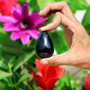 Natural Good Quality 55MM Black Tourmaline Healing Reiki Aura Metaphysical Power Yoni Egg | Natural genuine stones & crystals in various shapes & sizes. Buy raw cut, tumbled, or polished gemstones for making jewelry or crystal healing energy vibration raising reiki stones. #crystals #gemstones #crystalhealing #crystalsandgemstones #energyhealing #affiliate #ad