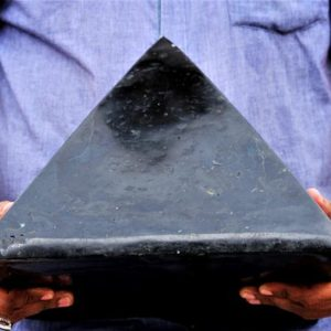 Very Huge 310MM 30CM Natural Black Tourmaline Stone Pyramid Aura Metaphysical Meditation Healing Power 25000 Grams | Natural genuine stones & crystals in various shapes & sizes. Buy raw cut, tumbled, or polished gemstones for making jewelry or crystal healing energy vibration raising reiki stones. #crystals #gemstones #crystalhealing #crystalsandgemstones #energyhealing #affiliate #ad