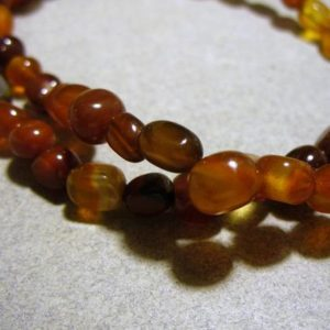 Carnelian Beads Gemstone Nuggets 7x9mm | Natural genuine chip Carnelian beads for beading and jewelry making.  #jewelry #beads #beadedjewelry #diyjewelry #jewelrymaking #beadstore #beading #affiliate #ad