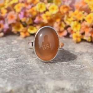 Shop Carnelian Rings! Natural Carnelian Ring, Orange Carnelian, Silver Ring, Boho Ring, Statement Ring, Gift For Her, Women Ring, Christmas Sale, Mom Gift, Dainty | Natural genuine Carnelian rings, simple unique handcrafted gemstone rings. #rings #jewelry #shopping #gift #handmade #fashion #style #affiliate #ad