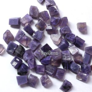 Shop Charoite Chip & Nugget Beads! AAA Quality 50 Piece Natural Charoite Rough, Rough Gemstone,Making Jewelry,6-8 mm ,Loose Gemstone, Gift For Her, Wholesale Price | Natural genuine chip Charoite beads for beading and jewelry making.  #jewelry #beads #beadedjewelry #diyjewelry #jewelrymaking #beadstore #beading #affiliate #ad