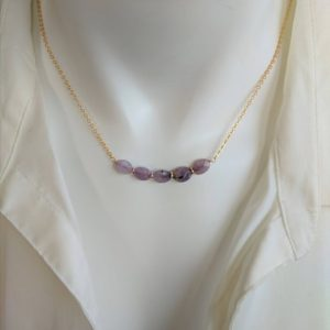 Shop Charoite Necklaces! Purple charoite necklace.  Sterling silver, gold filled and rose gold filled available | Natural genuine Charoite necklaces. Buy crystal jewelry, handmade handcrafted artisan jewelry for women.  Unique handmade gift ideas. #jewelry #beadednecklaces #beadedjewelry #gift #shopping #handmadejewelry #fashion #style #product #necklaces #affiliate #ad