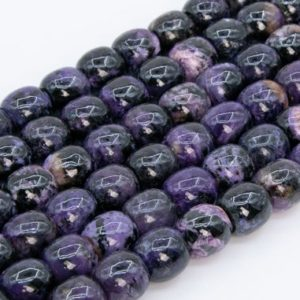 Shop Charoite Bead Shapes! Genuine Natural Dark Color Charoite Beads Loose Beads Grade AA Barrel Drum Shape 11x11mm | Natural genuine other-shape Charoite beads for beading and jewelry making.  #jewelry #beads #beadedjewelry #diyjewelry #jewelrymaking #beadstore #beading #affiliate #ad