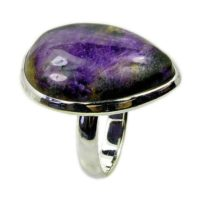 Stone Of Creativity' Charoite Ring With Healing Properties Sterling Silver Ring Size 6 8 The Silver Plaza Ae709 Jewelry | Natural genuine Gemstone jewelry. Buy crystal jewelry, handmade handcrafted artisan jewelry for women.  Unique handmade gift ideas. #jewelry #beadedjewelry #beadedjewelry #gift #shopping #handmadejewelry #fashion #style #product #jewelry #affiliate #ad