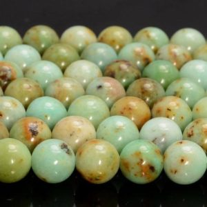 Shop Chrysoprase Round Beads! 8MM Genuine Light Green Chrysoprase Gemstone Grade AAA Round Loose Beads 7.5 Inch Half Strand (80007280 H-A252) | Natural genuine round Chrysoprase beads for beading and jewelry making.  #jewelry #beads #beadedjewelry #diyjewelry #jewelrymaking #beadstore #beading #affiliate #ad